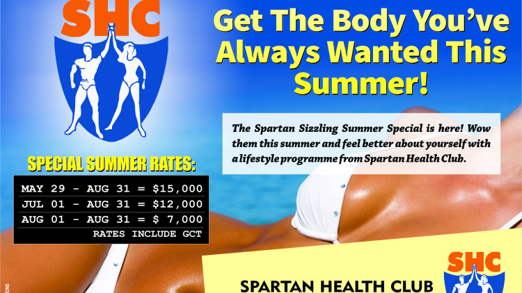 Spartan's Sizzling Summer Special is Here!